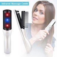 Électrique infrarouge Laser Perte de cheveux Croissance Dispositif de soins de soins Massager Peigne Dropshipping