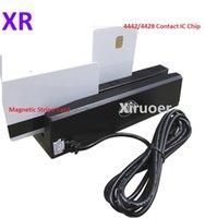 4in1 2IN1 다기능 마그네틱 스트라이프 리더 MSR 리더 라이터 LO 용 LO HI CO TRACK 1, 2, 3 액세스 제어 카드 리더 MSR X6 마그네틱 스트라이프 카드 용
