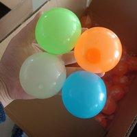 4,5 cm giocattolo soffitto appiccicoso palla da parete luminosa bagliore luminosa nel dark squishy anti stress palline allungabile morbido spremere adulto giocattoli per bambini giocattoli regalo del partito