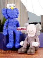 Best-selling 37cm e 25 cm originalFake kaws changsha sésamo rua companheiro caixa original tendência ação figura modelo decorações brinquedos presente
