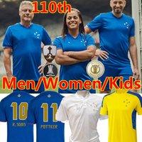 21/22 Cruzeiro Esporte Clube Futbol Formaları 100. Yıldönümü Erkek Kadın Çocuklar 2021 2022 W.Pottker Henrique Dede M.Moreno Futbol Forması Camisa de Raposas 100 Anos