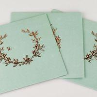 Gift Wrap Envelopes High-end Western Style Stamping Retro Kraft Paper Envelope Business Invitation Wedding Postcard Mailer