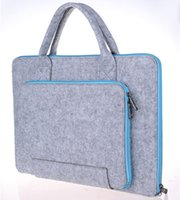 Slim Felt Laptop Tablet Protective Case Postman Man Bag