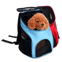 High Quality Portable Pet Dog Cat Puppy Travel Double Shoulder Backpacks Sport Outdoor Carrier Bag Dropship 4 Colors Car Seat Covers