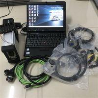 MB STAR Diankish C5 Scanner Tool с программным обеспечением 06/2021 новейшая версия 320 ГБ HDD-ноутбук X200T сенсорный экран готов к использованию