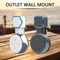 Wall Mount Stand Hanger Outlet Speaker Wireless Rechargeable Portable For Amazon Alexa Echo Dot 3rd Gen Plug Bracket Computer Speakers