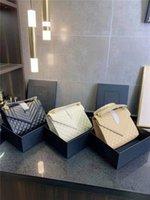 2021 Dernière marque Bandbody Sacs de luxe Bandbags Bandbags haut de gamme Mode et loisirs All-Match Gold Label Chain Sac Sac à main Trois couleurs Grande capacité