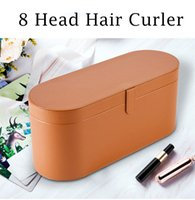 2 Set HS01 8 Heads Top Quality Multi Function Hair Curler Professional Salon Dryer Tools EU US UK AU Version Curling Iron for Normal Hairs with Gift Box