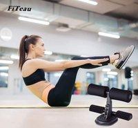 Sentar bancos portátil treino máquina esporte em casa equipamentos de fitness ginásio exercício ferramenta assistente assistente núcleo poderoso auto-priming preto e azul