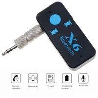 Récepteur audio Portable Bluetooth 5.0 Mini 3.5mm HIFI AUX STEREO POUR TV PC Haut-parleur de voiture Speaking Casque