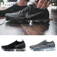 2020 Air 2.0 Maxes 1.0 Zapatillas para correr para estudiantes deportistas para hombre deportes para mujer, Vaormax Black Outdoor Sneakers Walking Shoe Online con