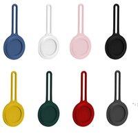 Мягкие силиконовые чехлы для Airtag Anti Toblet защитная кожа анти-царапин Беспроводной трекер Finder Loop Protector BWF6730