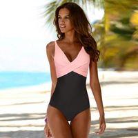 Women's Swimwear 2021 Sexy One Piece Women Floral Monokini Bathing Suits Bodysuit Push Up Swimsuit Beach Swimming Suit For Female