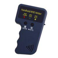 Carte de contrôle d'accès Lecteur RFID Reader Copier écrivain Duplicator programmeur réinscriptible ID Keyfob Tags Portail 125kHz
