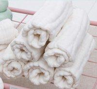 Детские подгузники 100% хлопчатобумажные марлевые мытья подгузники многоразовые мягкие и герметичные новорожденные NAPPies 12 слоев арахисовой формы подгузника LLE6557