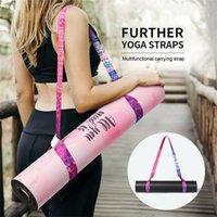 Joga Mata Strap Pas Regulowany Przewoźnik Sling Carry Carry Dression Fitness Elastyczne