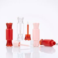 DIY Empty Gloss Tubes Bottles With Brush 5ml Plastic Cute Ca...