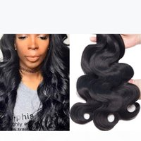 Body Wave Raw Virgin Hair 3Pcs Lot Unprocessed Double Drawn Weaves Wet Wavy Human Hair Malaysian Indian Peruvian Brazilian Cheap Weave