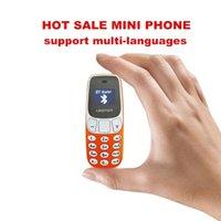 مصغرة الهاتف BM10 الأصلي L8STAR BM10 GSM 1800/900 / 850/1900 ميجا هرتز بلوتوث لاسلكي بلوتوث مع سماعة خالية من سماعة اليد مقابل BM70 BM50