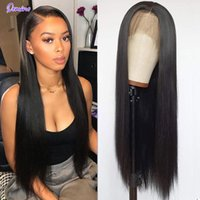 Lace Wigs DOMINO HAIR Straight Front Human For Women 13X4 Frontal Wig Brazilian Closure 4X4