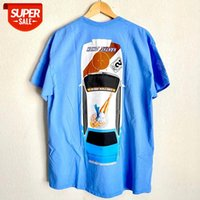 Travis Scott Jackboys Kaktüs Jack Araç T Gömlek Erkekler Kadınlar Kısa Kollu Üst Tees Astroworld Tshirt # FT8Z