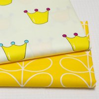 50*160cm Imperial Crown Cotton Fabric For Patchwork Quilts Baby Bedding Textile Cushions Telas Sewing Tissue D30
