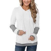 Women's Hoodies & Sweatshirts Solid Long-sleeved Sweatshirt Soft Cotton Fashion Casual Wear Harajuku Pullover Hoodie Brand