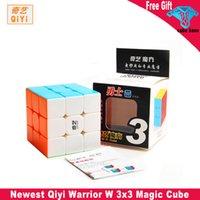 Qiyi Warrior W 3x3x3 Magic Cube 3x3 المحارب s الألغاز سرعة مكعب لعب للأطفال الكبار كوبو ماجيكو ألعاب تعليمية
