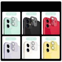 9D Kamera Lens Koruyucu Renkli Koruyucu Film Ekranı Temperli Cam Iphone 11 12pro Max Arka Kapak DHL