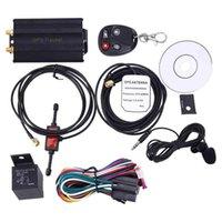 Auto GPS-accessoires Voertuig SMS GPRS Tracker TK103B met afstandsbediening GSM Alarm SD-kaartsleuf Anti-diefstal Systeem Tracking-apparaat