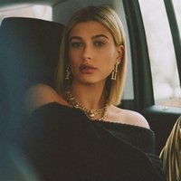 Kendall Jenner Same Style Style Punk Choker CollaneearrringSbracelet Set per le donne Cubano Collare Geometric Collar moda Je orecchini collana