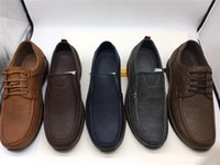 2021 High-end Mens Four Seasons Comfortable Casual Shoes Genuine Leather Flat Heel Factory Outlet