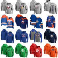 뉴욕 ishanders 하키 hooky hoody pullover jackets 18 Anthony Beauvillier 후드 44 Jean-Gabriel Pageau Hoodies 6 Ryan Pulock Sweatshirts 남성 여성 청소년