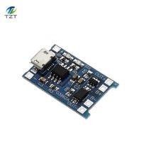 Circuitos integrados 10 unids Micro USB 5V 1A 18650 TP4056 Módulo de cargador de batería de litio Tablero de carga con protección Dual Funciones Li-ion