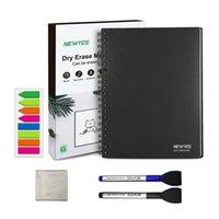 Портативная книга доски A4 A4 Office сухой стирание белая доска ноутбука умная стираемая памятка мини-многоразовый блокнот с ручкой блокноты