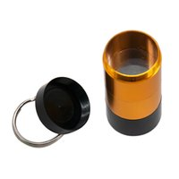Металлическая курение для курения JAR- HOARTIGTIGHT POWER Доказательство алюминиевой травы 4-х частей Контейнер для контейнера Case Case Tobacto