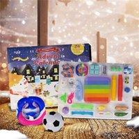 Xmas Fidgets Toys Set Party Favor Blind Box Childrens Adult Count Down Fidget Toy Christmas Advent Calendar 1sd H1