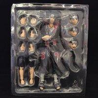Anime shf shippuden itachi artikulierte Gelenke bewegliche PVC-Figur Modell Spielzeug x0503