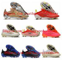 2021 x Speedflow.1 FG Futbol Ayakkabıları Messi Erkek Futbol Çizmeler Kaçış Işık Redcore BlackSolar Meteorit Paketi Cleats Beden ABD 6.5-11