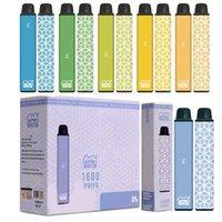 Genuine VAPEN CUBE Disposable Vape Pen 1600 PUFFs E Cigarettes Kits 650mAh Battery 5.5ml Capacity Portable Vaporizer Pre-Filled Bars Vapors