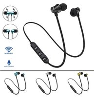 headphones Magnetic Bluetooth headset earplugs noise reduction XT11 iP8 8s Max Samsung Sports