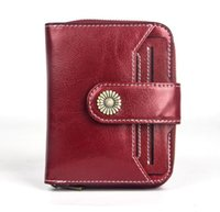 Wallets Leather Women Wallet Coin Purse Zipper Short Clutch Bags Card Holder Female Purses Hasp Ladies Small