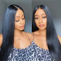 Lace Wigs Straight Front Wig Raw Hair 13x4 HD Transparent Frontal Pre Plucked Brazilian Human