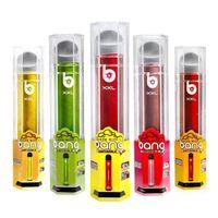 Bang XXL Einweg-E-Zigaretten 2000 Puffs Vape-Stift-Gerät 6ml Vorgefüllte Pod-Patrone 800mAh-Batterie Tragbare Puff Bar Plus