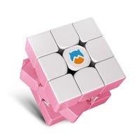 أحدث لون gan mg 356 3x3x3 monstergo ماجيك مكعب لغز 3x3 سرعة cubo magico المهنية gans mg356 لعبة ألعاب تعليمية