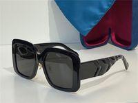 نظارات شمسية للنساء نمط الصيف المضادة للأشعة فوق البنفسجية 0906 ثانية الرجعية درع عدسة لوحة الرجعية إطار كامل الأزياء النظارات عشوائية مربع 0906