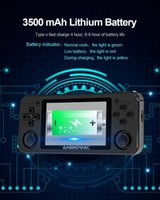 Powkiddy RG351P Portable 3.5 Inch IPS 2500 Video Games Player Open Source System Vibration Motor Handheld Retro Game Console Players
