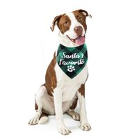 Dog Apparel Pet Neckerchief Christmas Puppy Scarf Washable Bow Ties Saliva Towel Grooming Accessories Supplies