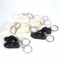 مصغرة 3d ستيريو كرة السلة رياضة المفاتيح امرأة الرجال الاطفال مفتاح حلقة هدية الأحذية الرياضية الحلي حقيبة يد السيارة مفاتيح سلسلة الزوجين