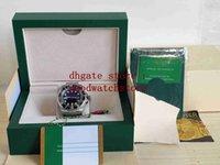 Super Wristwatches box High Quality Men's 44mm 116660 SEA D-Blue Black and blue ceramic Bezel Asia 2813 Movement Mechanical Automatic Mens